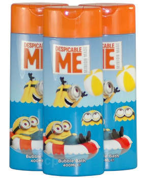 3 x 400ml MINIONS Schaumbad, Bubble Bath
