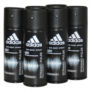 adidas DYNAMIC Pulse, Deodorant Bodyspray, 6x150ml
