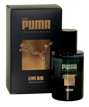 Puma LIVE BIG, Eau de Toilette, Natural Spray 1 x 50ml