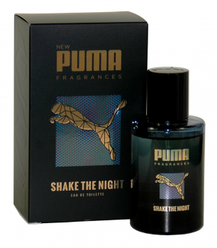 Puma SHAKE THE NIGHT, Eau de Toilette, Natural Spray 1 x 50ml