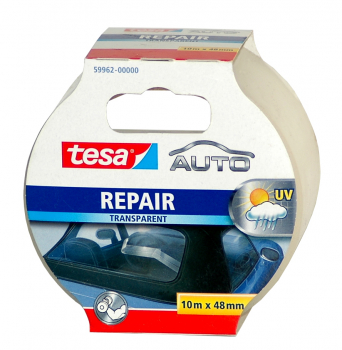 tesa REPAIR Transparent, Pannenband 59962-00000, 10m x 50mm