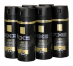 AXE GOLD Oud Wood Dark Vanilla, 48H Fresh Deospray, 6 x150ml