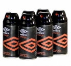 Umbro Energy Bodyspray 6er Pack